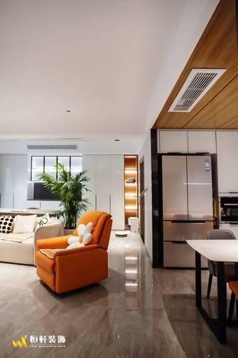 90平米港式风格客厅效果图