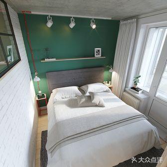 富裕型60平米公寓现代简约风格卧室装修效果图