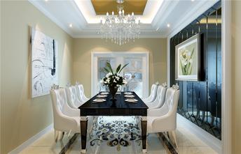 经济型100平米三室一厅法式风格客厅图片