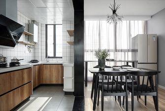 富裕型100平米三室两厅新古典风格厨房图片