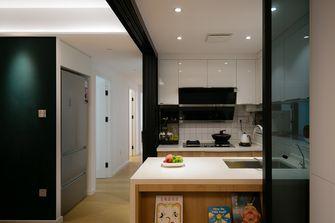 5-10万90平米三室一厅日式风格厨房装修效果图