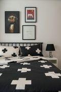 富裕型110平米三室两厅北欧风格卧室图片