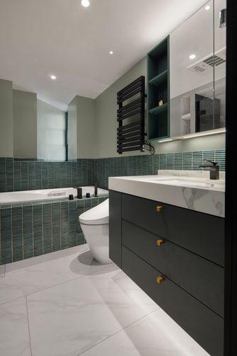 豪华型120平米三室两厅日式风格卫生间设计图