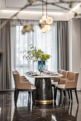 富裕型110平米四室两厅轻奢风格餐厅欣赏图