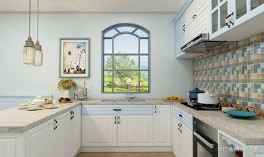 10-15万80平米地中海风格厨房装修案例