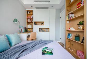 富裕型80平米北欧风格卧室图