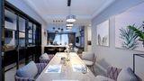 130平米四室两厅混搭风格餐厅图片