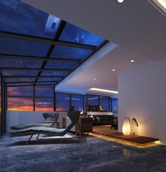 140平米复式欧式风格阁楼图片大全