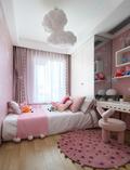 富裕型三室两厅地中海风格青少年房效果图