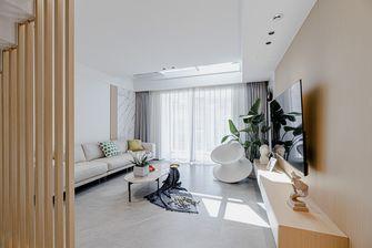130平米三室两厅混搭风格客厅欣赏图