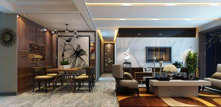 经济型130平米三室三厅港式风格客厅图片