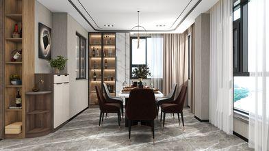 140平米三现代简约风格餐厅装修案例