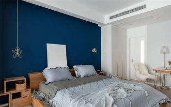 5-10万90平米三室两厅田园风格卧室装修案例