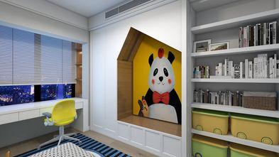 豪华型140平米四室两厅轻奢风格书房图片大全