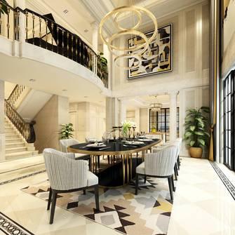 20万以上140平米别墅混搭风格餐厅效果图