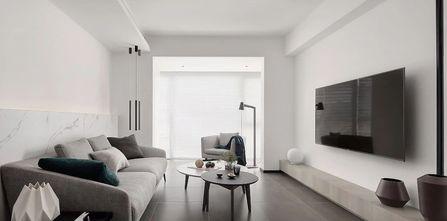 经济型90平米现代简约风格客厅效果图
