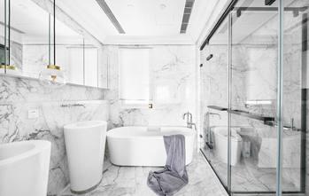 富裕型120平米三室两厅混搭风格卫生间图片