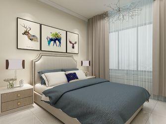 富裕型90平米欧式风格卧室装修案例
