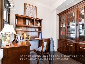 15-20万四室两厅美式风格书房设计图