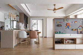 富裕型120平米三室两厅混搭风格餐厅装修图片大全