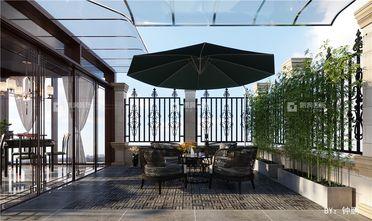 20万以上140平米别墅中式风格阳光房设计图