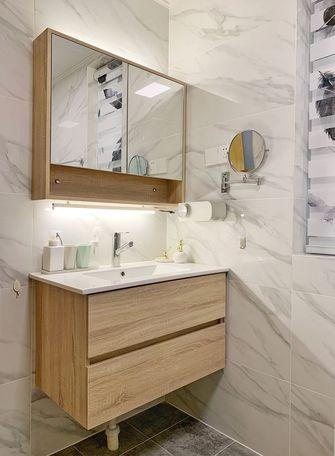 5-10万130平米三室两厅日式风格卫生间装修案例