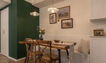 90平米三新古典风格餐厅图片
