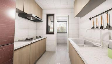 50平米一居室日式风格厨房图
