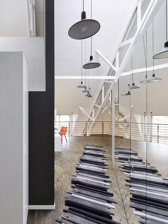 110平米三北欧风格客厅装修效果图