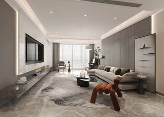 豪华型140平米四室三厅现代简约风格客厅欣赏图