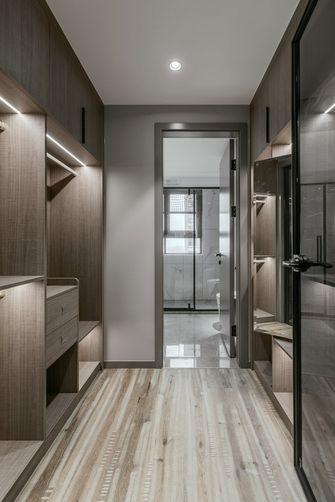 140平米三室一厅现代简约风格衣帽间设计图