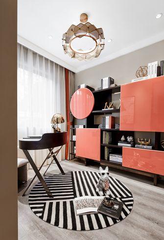 豪华型110平米三室一厅轻奢风格书房设计图