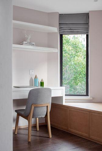 富裕型三室两厅日式风格书房装修案例