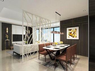 120平米四室两厅轻奢风格餐厅图