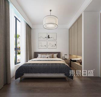 110平米三中式风格卧室装修案例