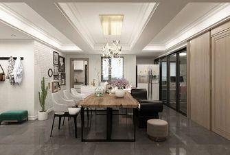5-10万130平米三室一厅轻奢风格餐厅欣赏图