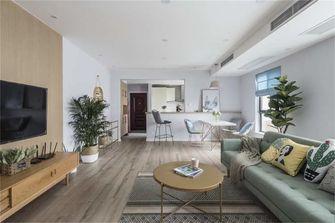 富裕型110平米复式混搭风格客厅欣赏图