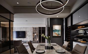 140平米别墅轻奢风格餐厅装修效果图
