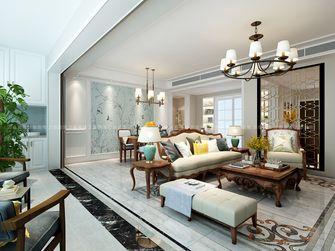 豪华型140平米四室两厅美式风格阳台图