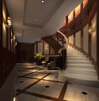 豪华型140平米公装风格楼梯间装修效果图