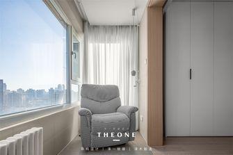 15-20万120平米三室两厅现代简约风格阳台图片大全