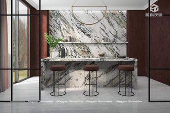 140平米复式公装风格厨房效果图