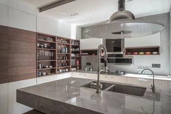 经济型70平米公寓现代简约风格厨房装修图片大全