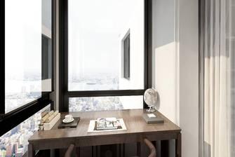 5-10万60平米中式风格阳台装修效果图
