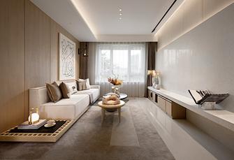 富裕型100平米三室一厅日式风格客厅效果图