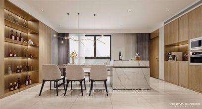 140平米四室五厅现代简约风格餐厅图片