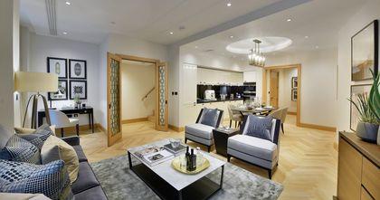 富裕型三室一厅田园风格客厅装修案例