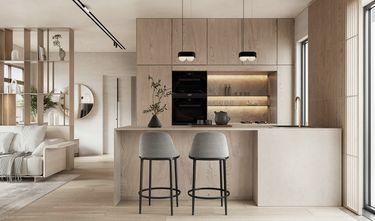 豪华型110平米三室两厅现代简约风格厨房装修效果图