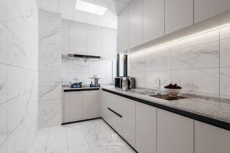 富裕型110平米北欧风格厨房图片