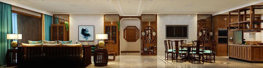 经济型140平米别墅现代简约风格客厅图片
